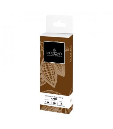 Cioccolato di Modica al Caffè - 100g.
