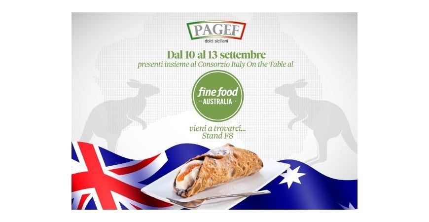 Dal 10 al 13 settembre, presenti al Fine Food Australia