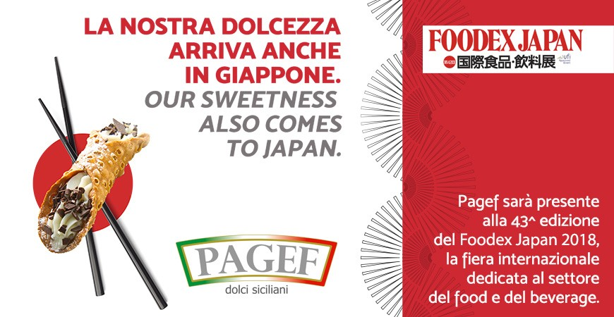 Pagef al Foodex Japan 2018